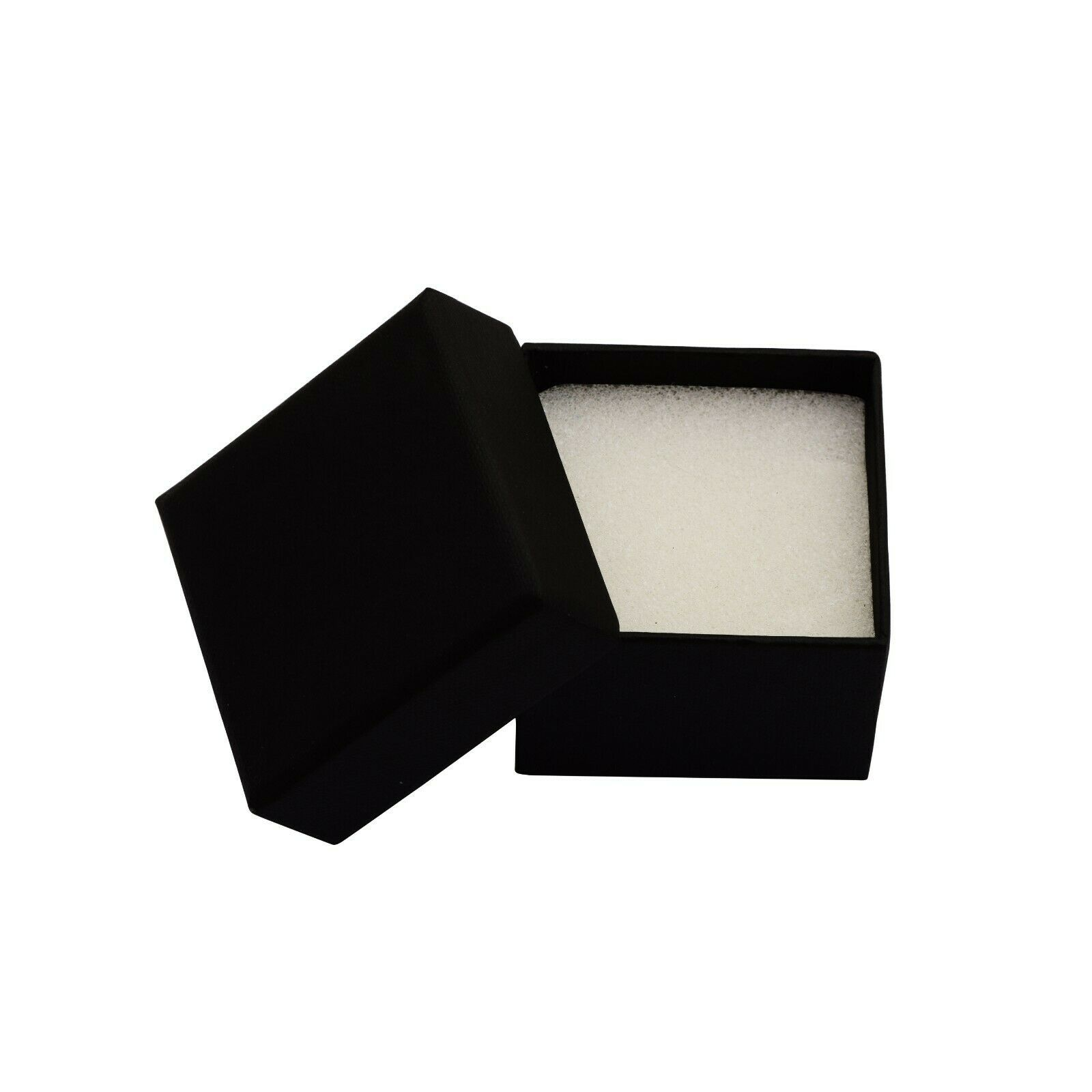 Geometric Open Shape White Topaz 925 Sterling Silver Dangle Statement Earring