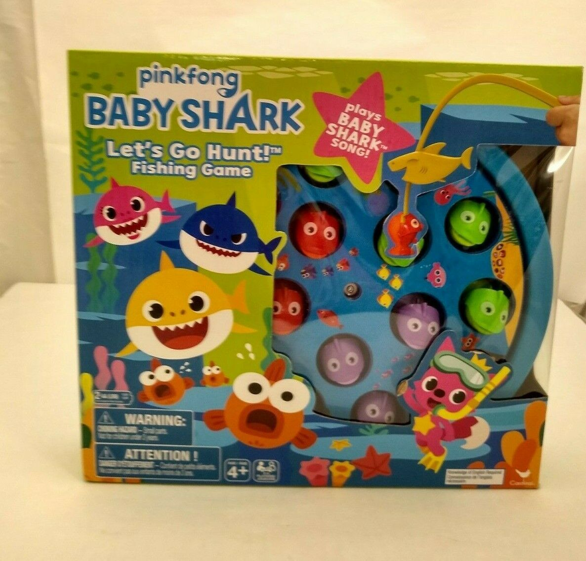 Primary image for Baby Shark Let's Go Hunt Fishing Game With Baby Shark Song New