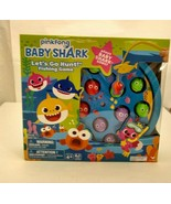 Baby Shark Let's Go Hunt Fishing Game With Baby Shark Song New - $9.99