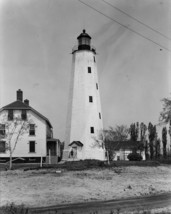 Sandy Hook Light lighthouse at New York Harbor in New Jersey Photo Print - $7.05+