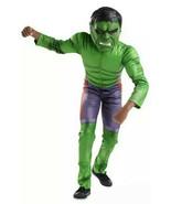 Disney Store Deluxe Avengers The Incredible Hulk Boys Costume Sz 4 w/ So... - $44.99