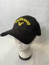 Callaway Black Yellow OSFA Adjustable Golf Hat  - $14.84