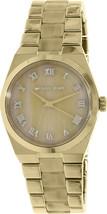 Michael Kors Channing Horn Resin Gold Stainless Steel Bracelet MK6152 Watch NIB - $128.21