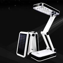 24 LED Solar Foldable Desk Lamps Rechargeable Pretty Table Light For Rea... - $16.68