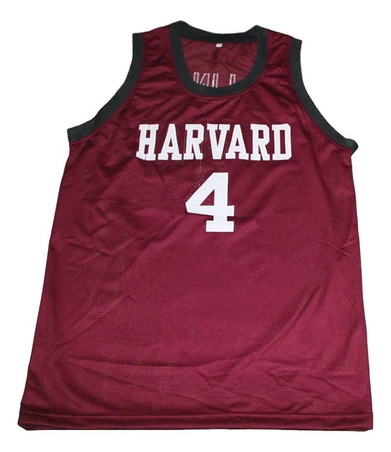 Jeremy Lin #4 Harvard New Men Basketball Jersey Maroon Any Size