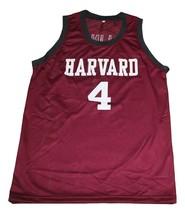 Jeremy Lin #4 Harvard New Men Basketball Jersey Maroon Any Size image 1