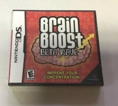 Brain Boost: Beta Wave (Nintendo DS, 2006) Complete with Manual and Case  - $10.00