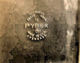 U.S.A. PYREX Baking Dish AA18-1237 Vintage image 3