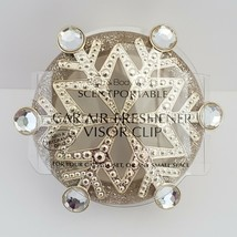 Gold Snowflake Scentportable Bath Body Works Gems Champagne Retired No Disc - $14.95