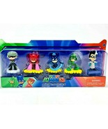 PJ Masks Collectible Figure Set 5 Pack Toy Figurine Set Age 3+ New In Box - $20.78