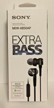 Sony Extra Bass MDR-XB50AP In-Ear Headphones - Black - $22.52