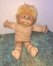 "2005 Cabbage Patch Kids Play Along 16"" Doll Freckles Teeth Bangs Nude Bl... - $9.99"