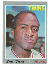 Luis Tiant Signed Lot of 10 Cards 1970 1973-1977 1979-1981 / Autographed... - $29.09