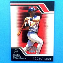 Ozzie Smith 2008 Topps Triple Threads Serial Number Card #58 St. Louis C... - $2.92