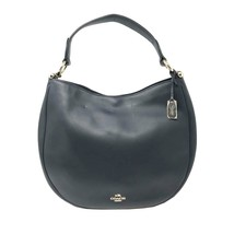 Coach 36026 Nomad Hobo In Glovetan Leather Navy Blue Ladies Bag - $199.00