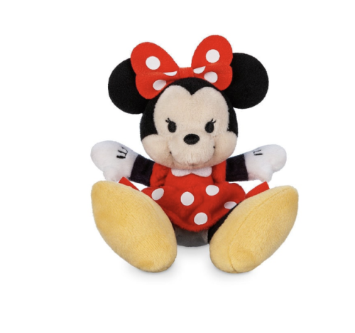 Disney Minnie Mouse Smiling Tiny Big Feet Plush Micro New with Tags