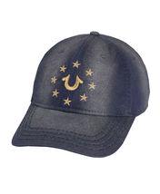 True Religion Men's Metallic Embroidered Star Logo Cap Sports Strapback Hat image 6