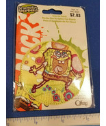 Spongebob Squarepants Craft Notion Nickelodeon Bubbles Iron On Offray Ni... - $2.84