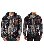 Lebron James Hoodie Zipper Fullprint Men - $51.99
