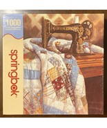 """Springbok """"Singer Patchwork Quilt"""" 1000 pc Puzzle 24"""" x 30"""" by Carolyn W... - $16.98"""