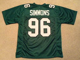 UNSIGNED CUSTOM Sewn Stitched Clyde Simmons Green Jersey - M, L, XL, 2XL - $33.99