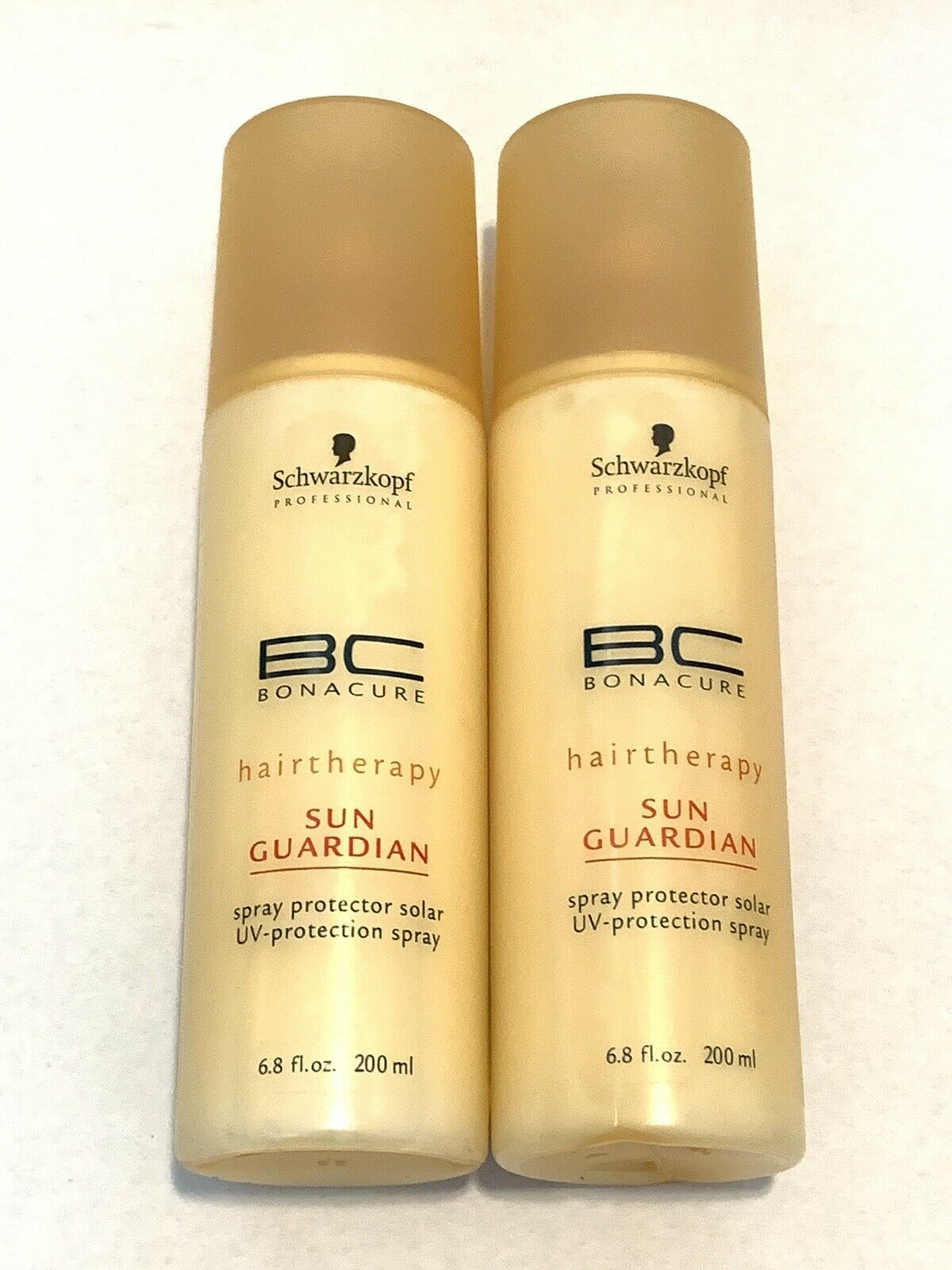 Primary image for 2 SCHWARZKOPF SUN GUARDIAN UV-PROTECTION SPRAY FOR HAIR 13.6 FL OZ TOTAL - NEW
