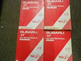 1987 Subaru Xt Service Repair Shop Manual Huge Set Factory Feo Books 87 - $83.12