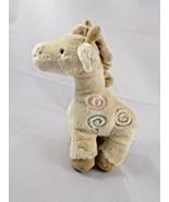 "Carter's Giraffe Rattle Plush 7"" Prestige Stuffed Animal toy - $6.26"