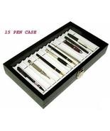 15 PEN CASE BOX ORGANIZER Display Antique PEN COLLECTION  - $37.95