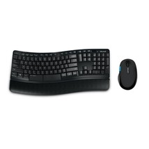 Microsoft Sculpt Comfort Desktop Wireless Keyboard and Mouse Set Canadia... - $87.19