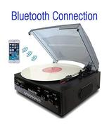 Boytone BT-13B with Bluetooth Connection 3-Speed Stereo Turntable Belt D... - $101.06