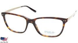 New Polo Ralph Lauren Ph 2167 5003 Dark Havana Eyeglasses Frame 54-17-145 B39mm - $79.19