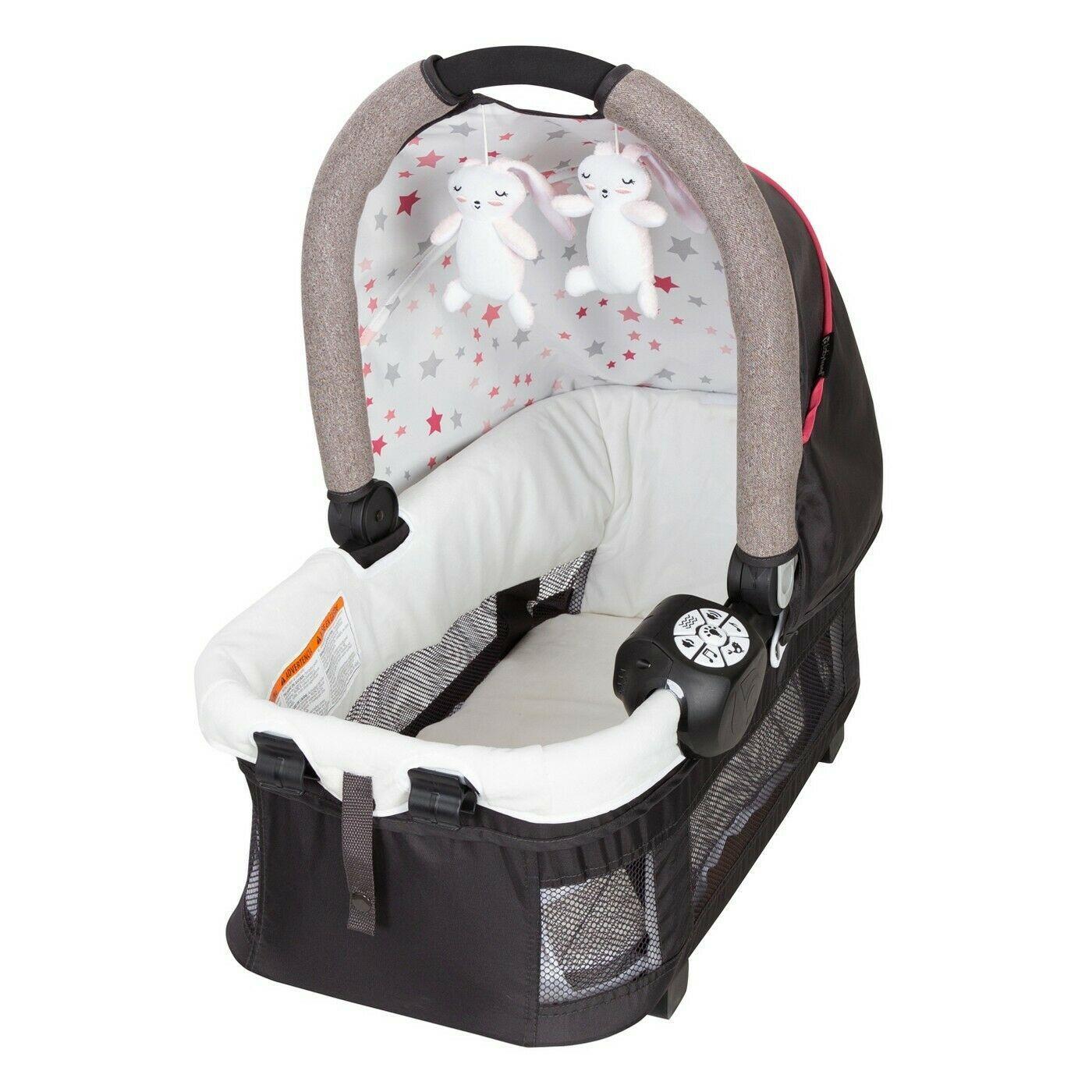 Babytrend golite elx nursey center (stardust rose)