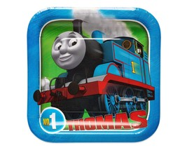 Thomas the Tank, Square Paper 8 Count,  Party Supplies. - $11.99