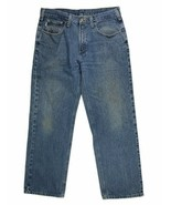 Carhartt Mens Jeans Size 35 x 30 Med Wash Jean  - $20.78