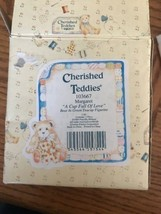 Cherished Teddies ~# 103667 MARGARET  A CUP FULL OF LOVE - $22.65