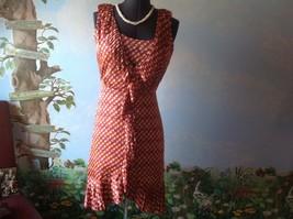 Tory Burch Janette Kir Royal Jules Ruffle Front Dress Size 6 New - $187.11