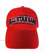 NBA All Star Game Atlanta 2000 Cap Hat Turner Field Red Embroidered Adju... - $29.69