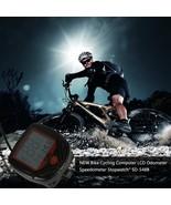 Computer With LCD Digital Display Waterproof Bicycle Odometer Speedomete... - $13.40