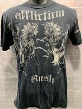 AFFLICTION Rush Georges St Pierre Knights Battle T-Shirt Size M - $18.70