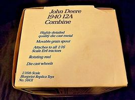 John Deere Collector's Edition 1940 12A CombineAA18-JD0007 image 7