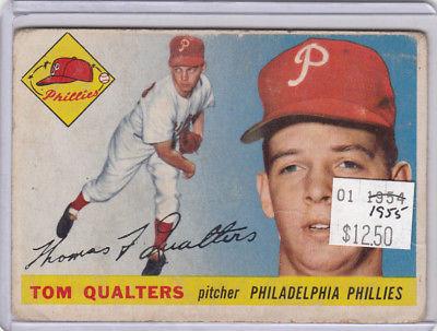 1955 Topps 33 Tom Qualters Not Graded