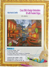 "Needlepoint Embroidery Kit APT Hobby Products ""Tis The Season Nighttime ... - $30.44"
