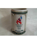 1996 Olympic Games Atlanta Anheuser Busch Centennial Ceramic Stein 6 Inc... - $10.99