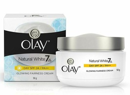 Olay Natural White Glowing Fairness cream Day SPF 24, 50 gm FS - $12.86