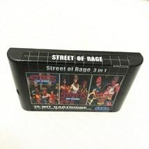 Streets of Rage 3 in 1 Trilogy - Sega Genesis Collection Mega Drive Multi Cart 2 - $19.99