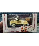 Golden Wheel 1/10 Scale Die Cast Metal White & Brown Express Service Ped... - $13.99