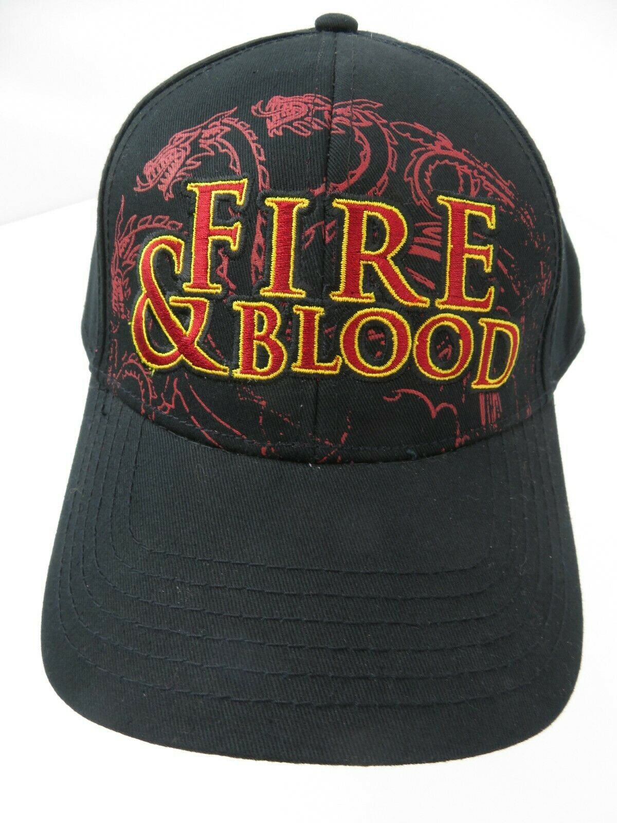 Primary image for Game of Thrones Fire & Blood Targaryen Snapback Adult Cap Hat New