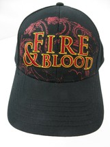 Game of Thrones Fire & Blood Targaryen Snapback Adult Cap Hat New - $14.84