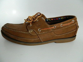 Timerberland Mens Brown Leather Upper Boat shoes Size 11M - $29.99